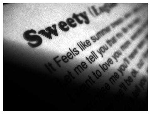 Sweety (English Version)