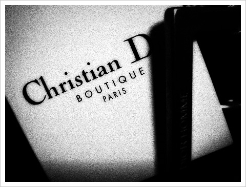 Christian Dior BOUTIQUE PARIS